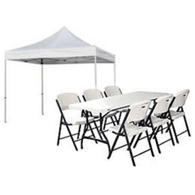 chair table rental natural gas fire pit and chairs bounce house party rentals we bring the llc tents tables