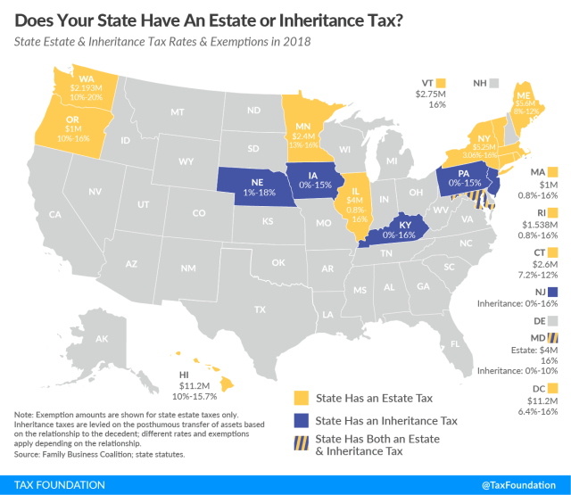 Connecticut estate tax Connecticut inheritance tax