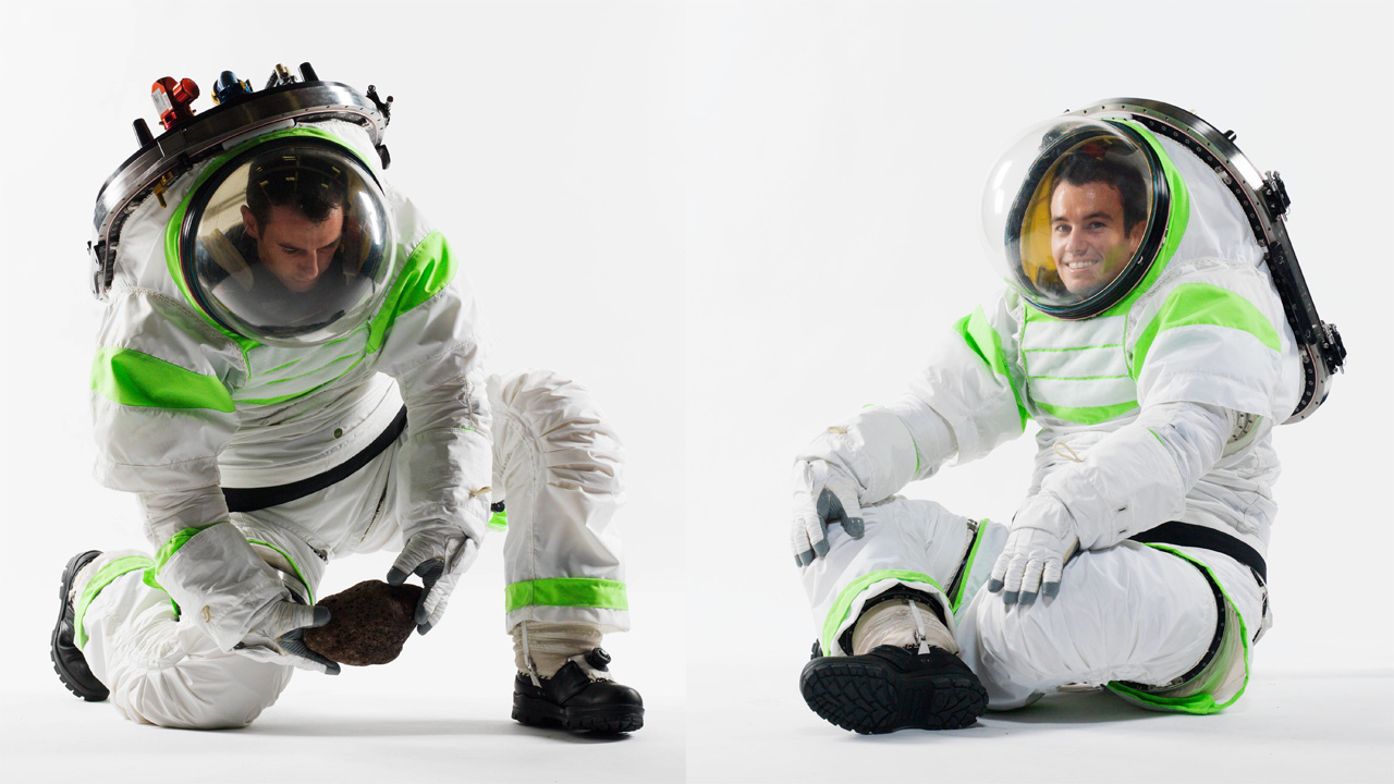 Richard Rhodes NASA Z-1 Spacesuit