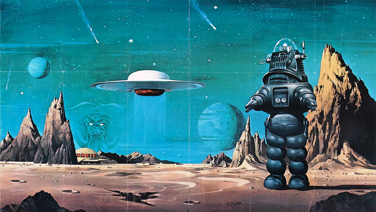Science fiction space image