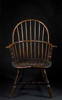 Bow Back Windsor Arm Chair