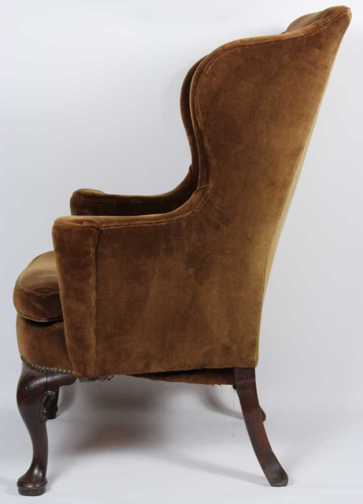 queen anne wing chair whale spa pedicure english