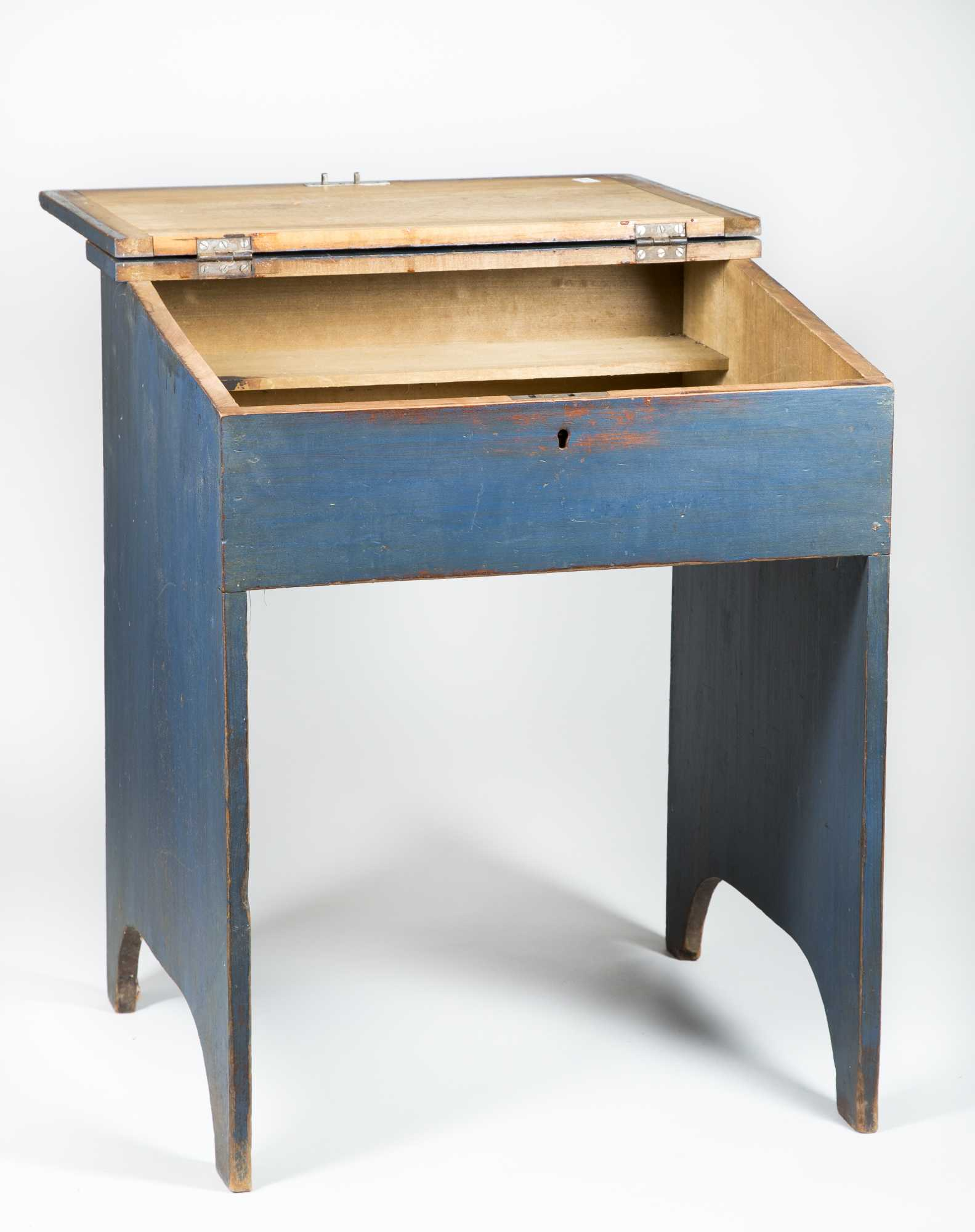 Shaker Blue Painted Childs Desk