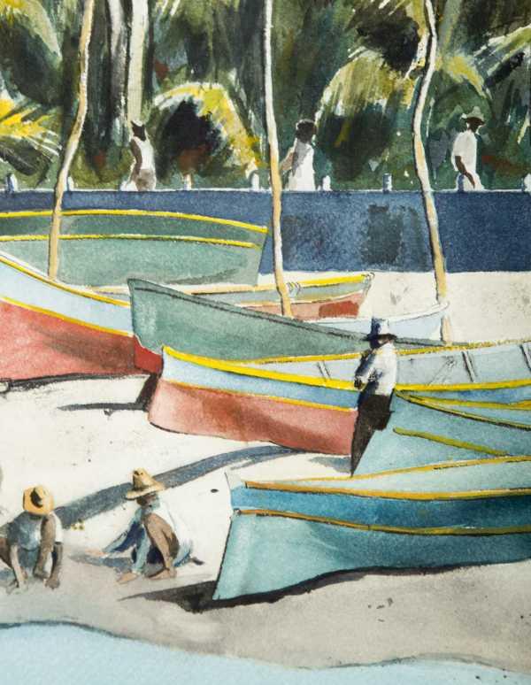 Lee Reynolds Attributed Vanguard School Of Artists