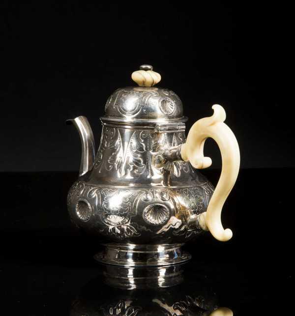 Coin Silver Teapot