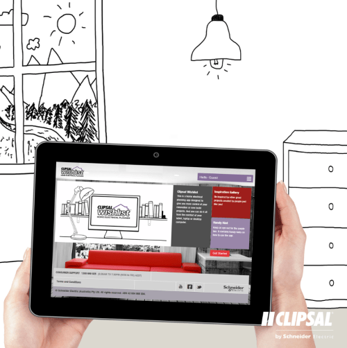 small resolution of from the comfort of your tablet laptop or desktop computer the new clipsal wishlist web tool helps you plan all the products you need for an electrical