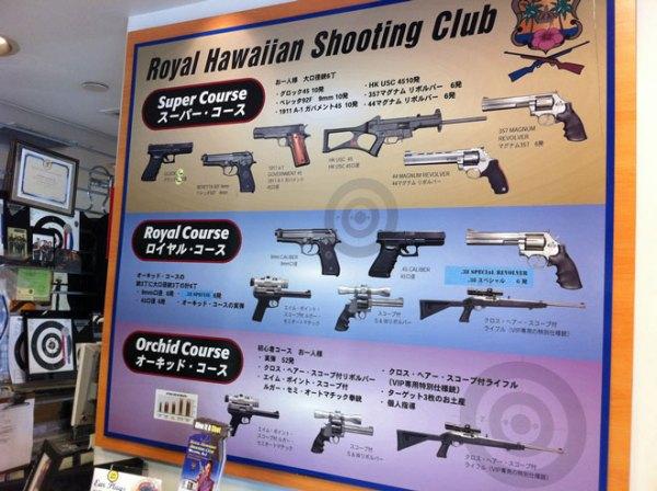 Guns in Japan