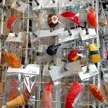 Sampuru Japanese Plastic Food Models