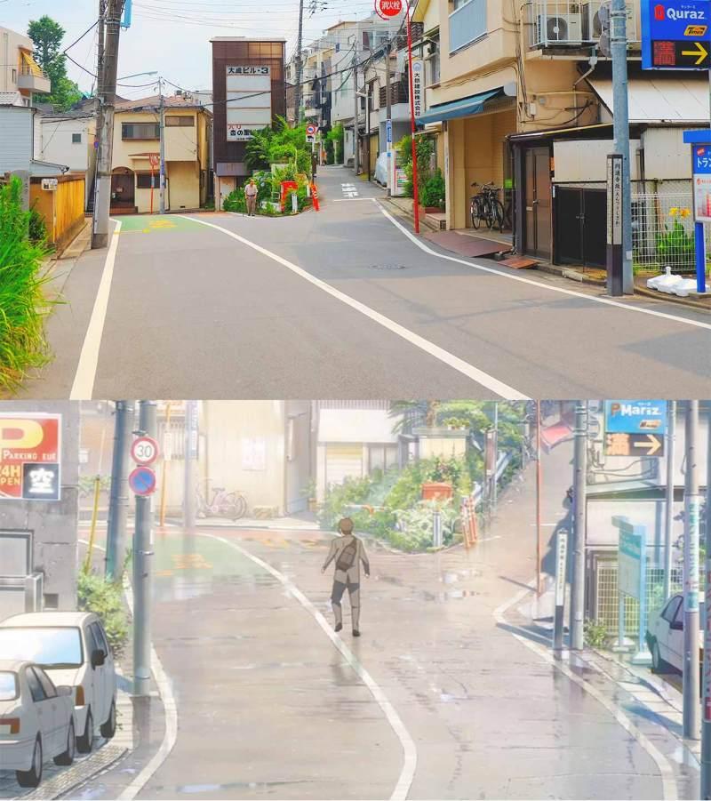 fork in the road at mitsumata