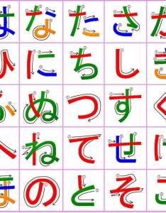 Mama no yume koubou   hiragana chart also downloadable charts rh tofugu