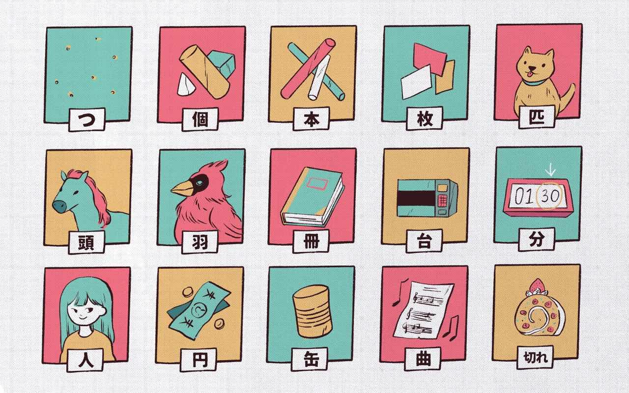 Japanese Counters Worksheet