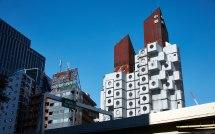 Nakagin Capsule Tower Retro Future Living In Tokyo