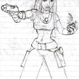 Tomb Raider 1 – koncepty