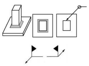 Figure 3 45 Weld Symbols Applied To Reference Line