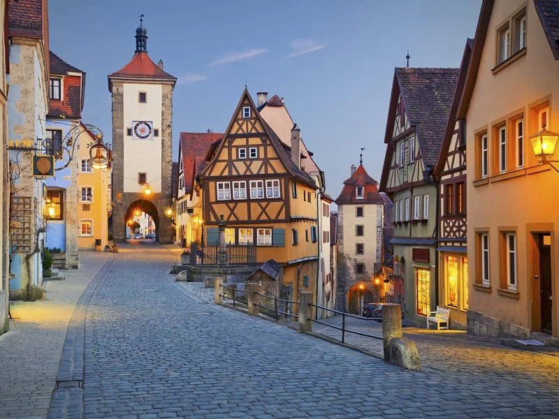 Architecture Wallpaper Fall Top 10 Fairy Tale Towns In Europe Tripstodiscover