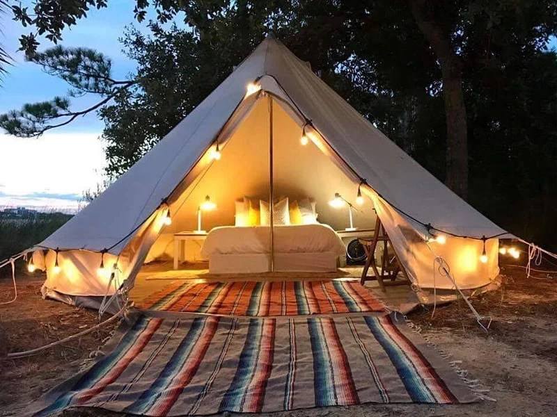 Fancy Camps in Florida Brings Glamping to Your Favorite
