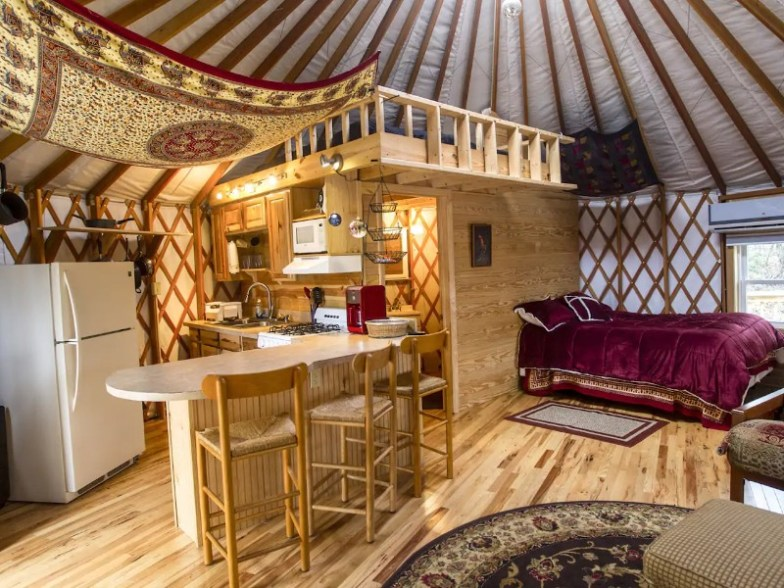 Top 15 Yurt Airbnbs In The U S For 2021 With Photos Trips To Discover