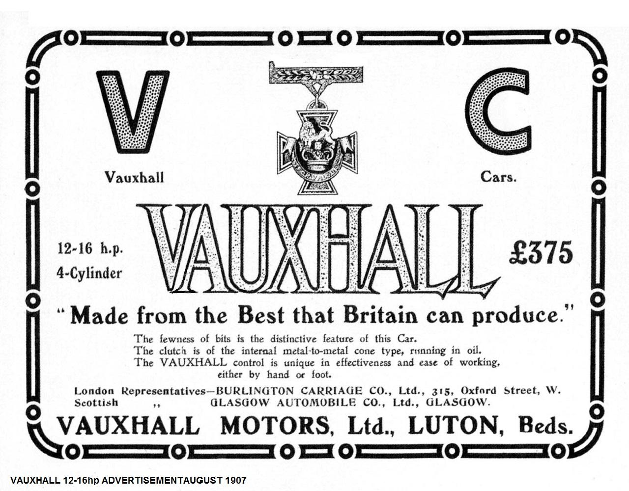 Vauxhall 4 Cylinder