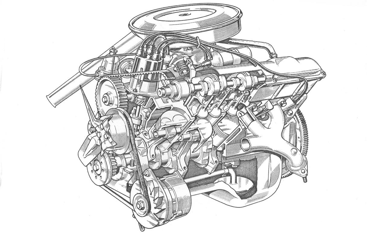 V8 Engine Head