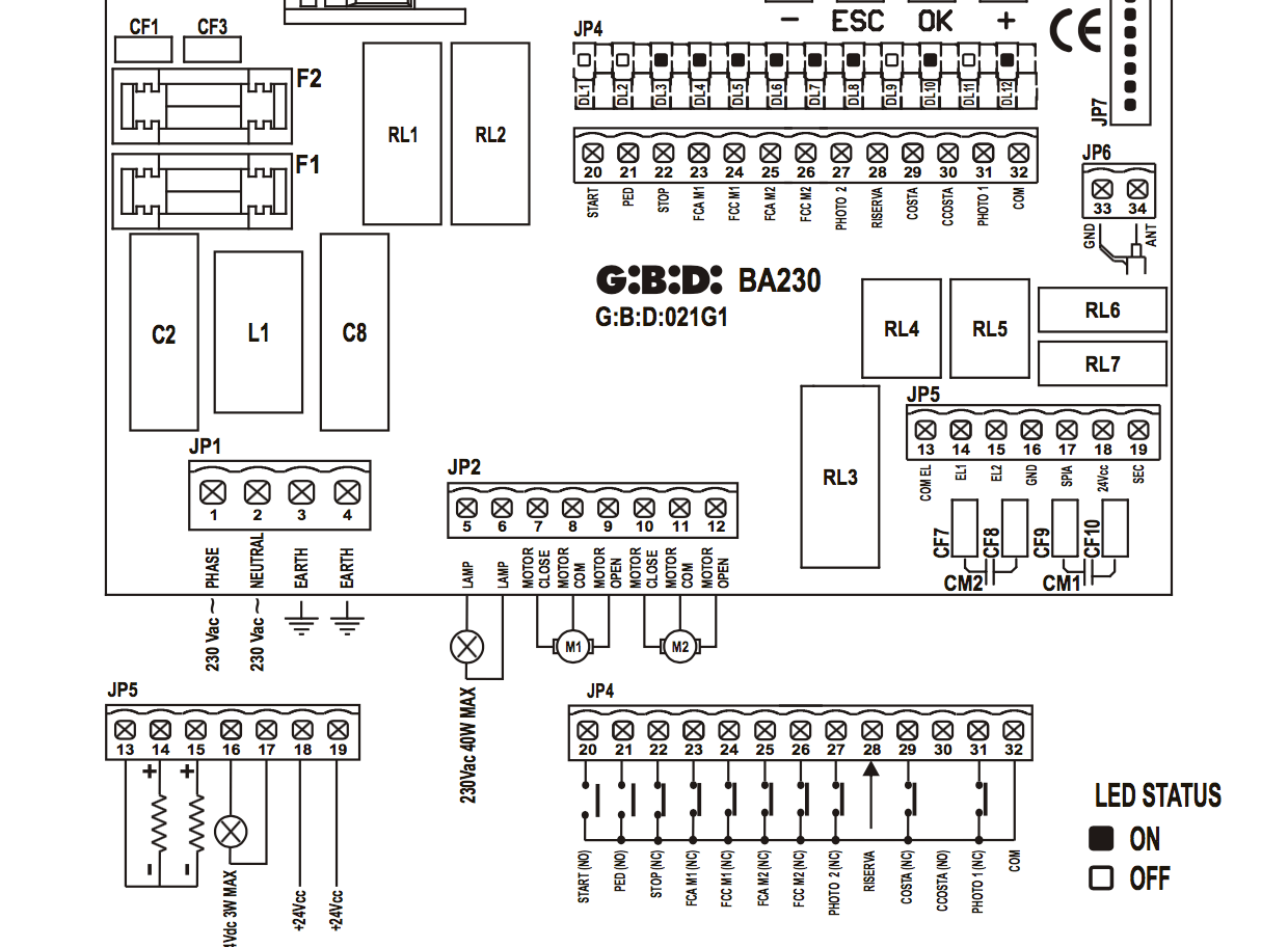 Control Panel Wiring Diagrams. control panel wiring