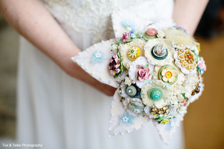 Jamball Creations Alternative Bouquets Felt Button And