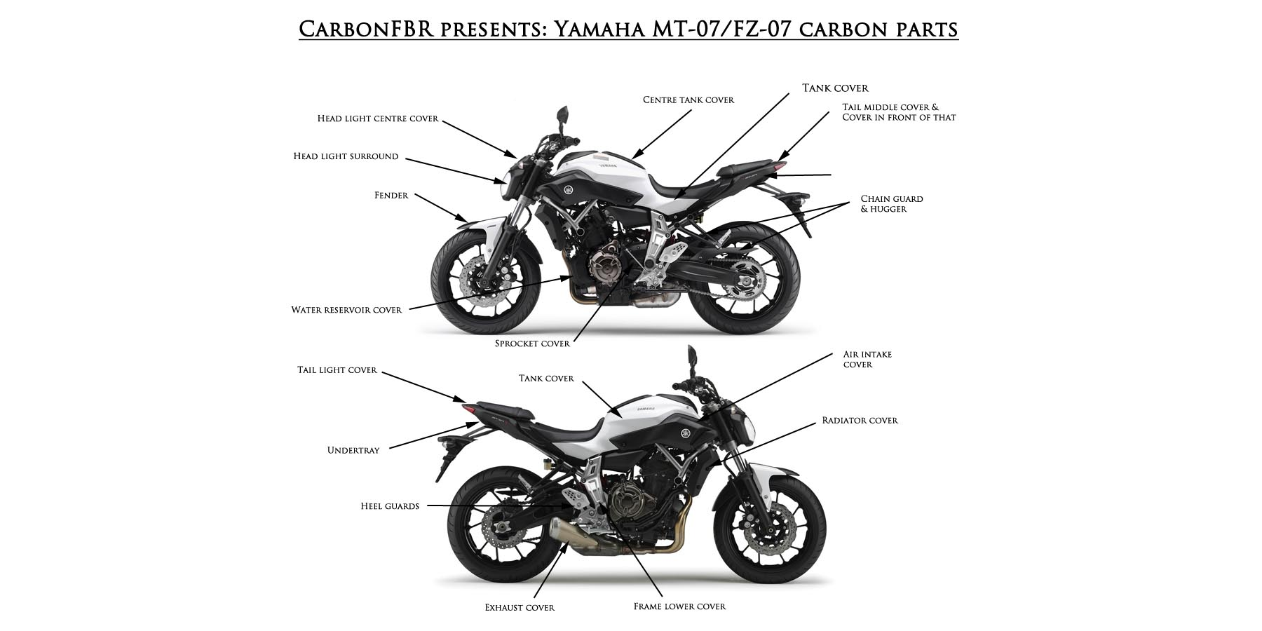 CarbonFBR has the worlds largest range of Triumph and