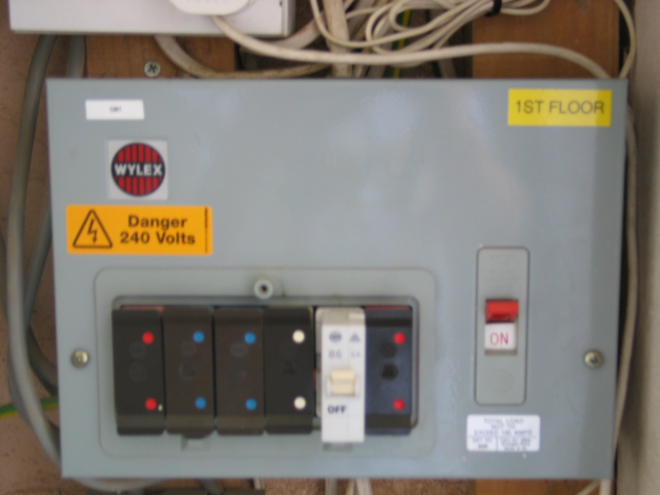 rcbo wiring diagram trane split system fuse board upgrades and rcd protection north london