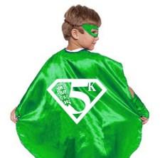 RUSH Superhero 5K Kid's Cape