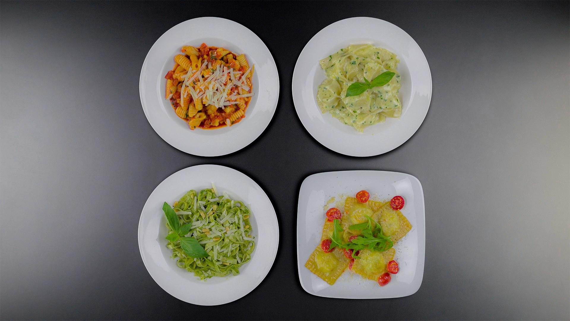自製經典的4種義大利麵