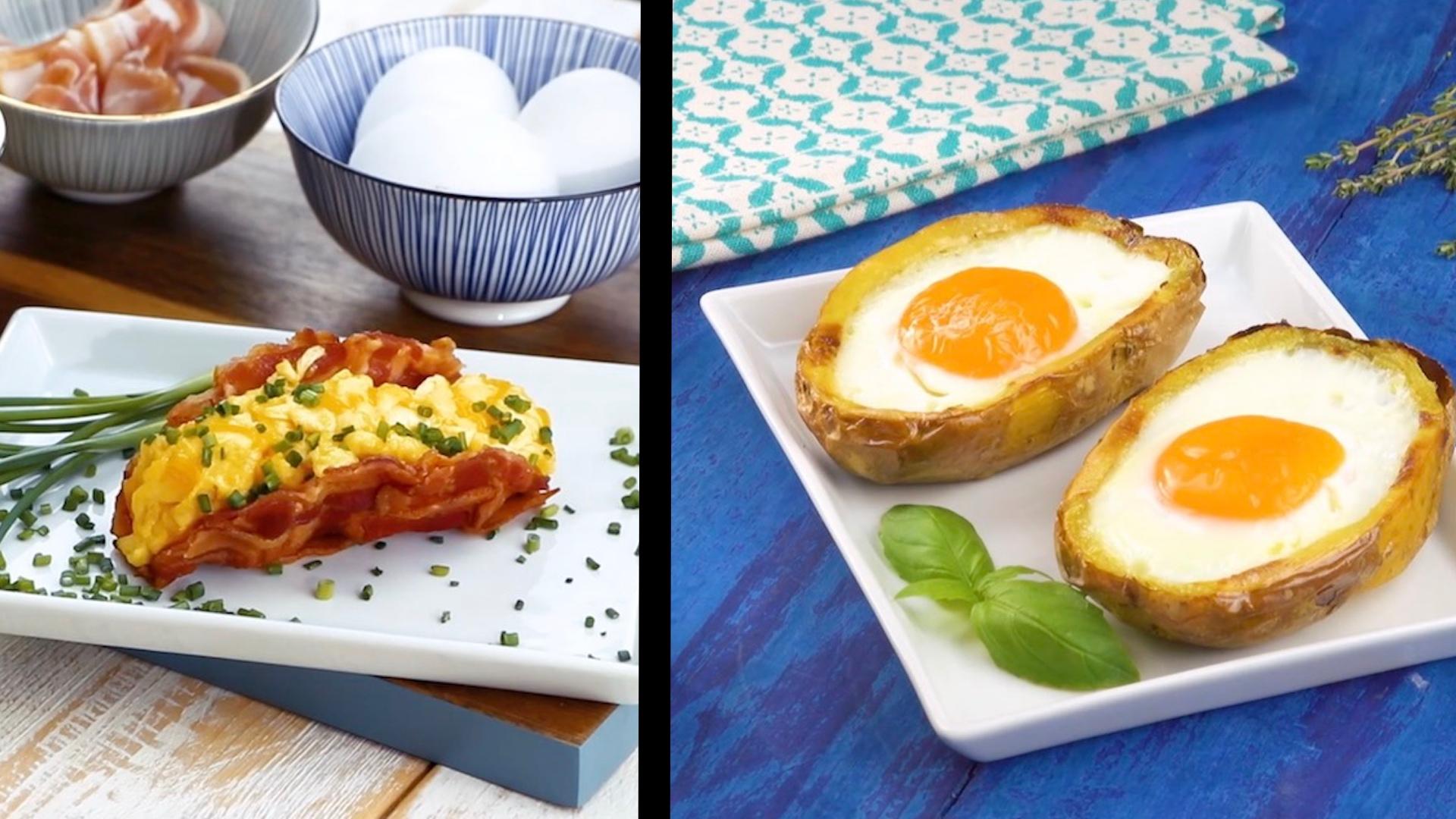 從三明治到馬鈴薯:10種美味的蛋料理