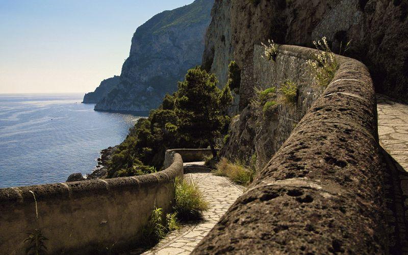 Capri  Giardini di Augusto e Via Krupp