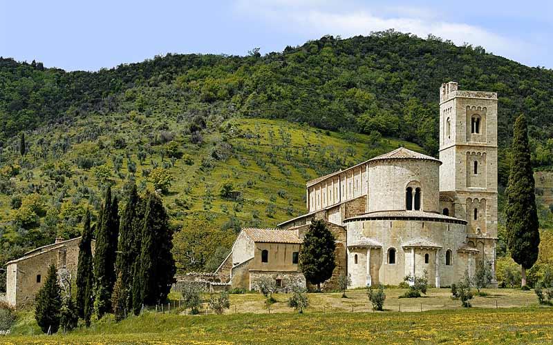 Locanda dellAmorosa  Itinerrio LAmorosa  Montalcino