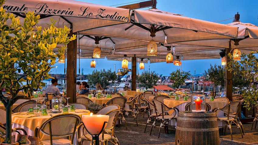 Restaurant Lo Zodiaco on Capri  Menu and Dishes