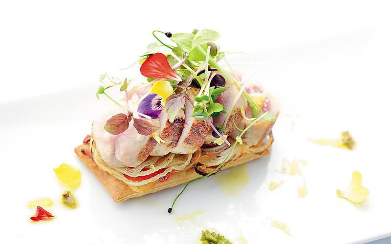 Restaurant La Terrazza di Lucullo on Capri  Info and Photos