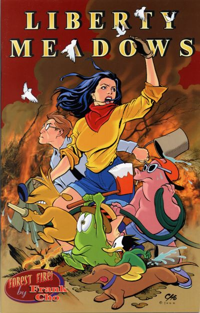 Cover for Liberty Meadows (Insight Studios Group, 1999 series) #11
