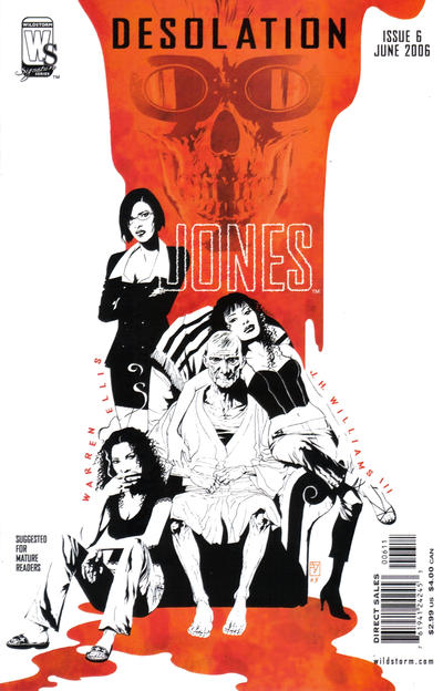 Cover for Desolation Jones (DC, 2005 series) #6
