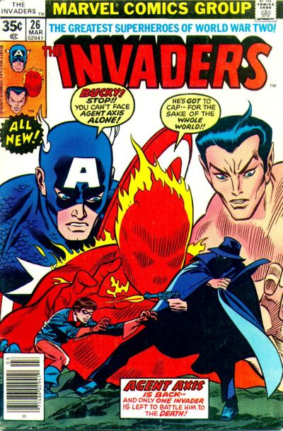 Cover for The Invaders (Marvel, 1975 series) #26