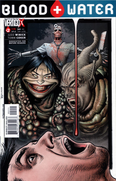 Cover for Blood and Water (DC, 2003 series) #2