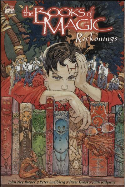 Cover for The Books of Magic (DC, 1995 series) #3 - Reckonings
