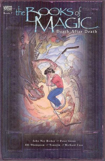 Cover for The Books of Magic (DC, 1995 series) #7 - Death After Death