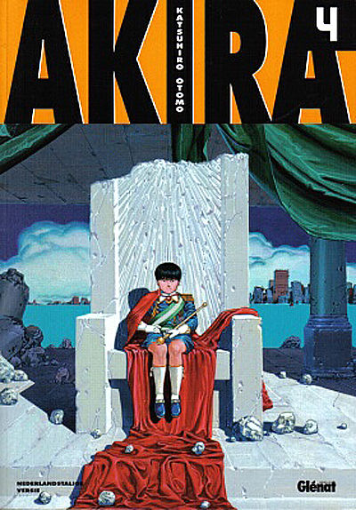 Cover for Akira (Glénat Benelux, 2002 series) #4