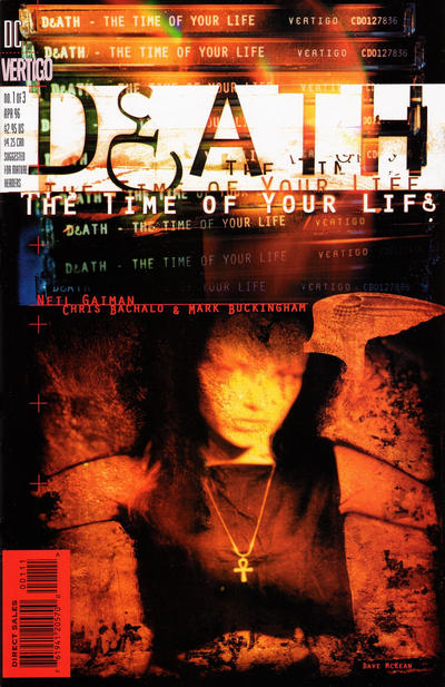 Cover for Death: The Time of Your Life (DC, 1996 series) #1