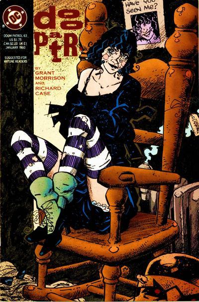 Cover for Doom Patrol (DC, 1987 series) #63
