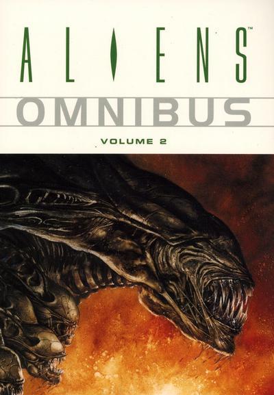 Cover for Aliens Omnibus (Dark Horse, 2007 series) #2