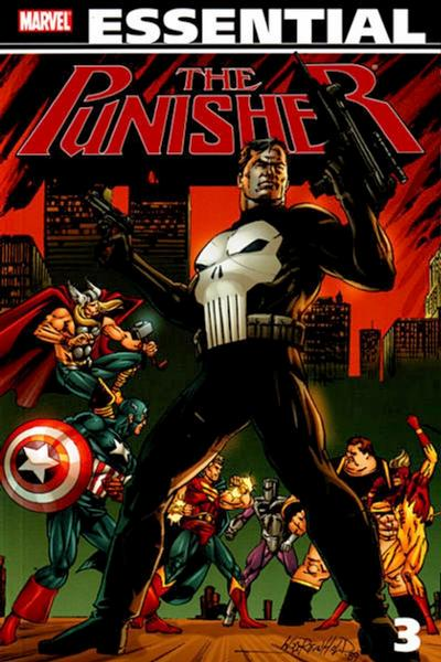 Cover for Essential Punisher (Marvel, 2004 series) #3