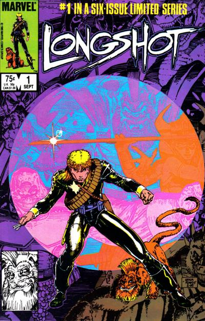 Cover for Longshot (Marvel, 1985 series) #1 [Direct Edition]