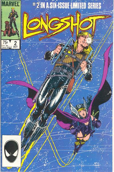 Cover for Longshot (Marvel, 1985 series) #2 [Direct Edition]