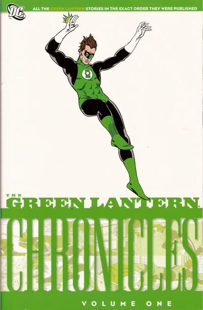Cover for The Green Lantern Chronicles (DC, 2009 series) #1