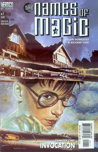 Cover for Names of Magic (DC, 2001 series) #1