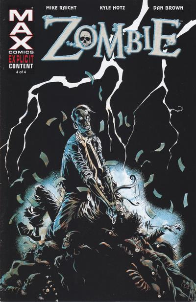 Cover for Zombie (Marvel, 2006 series) #4